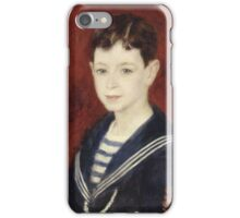 Auguste Renoir - Fernand Halphen as a Boy 1880 iPhone Case/Skin