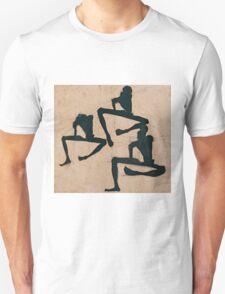 Egon Schiele - Composition with Three Male Nudes 1910 Egon Schiele  Unisex T-Shirt