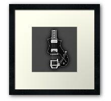 Electric Guitar Parts  Framed Print
