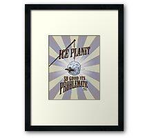 Firefly: Ice Planet Framed Print