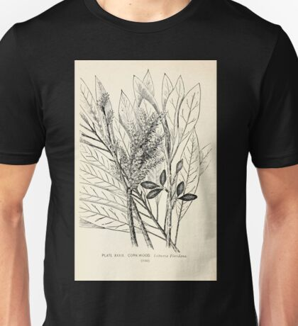 Southern wild flowers and trees together with shrubs vines Alice Lounsberry 1901 039 Cork Wood Unisex T-Shirt