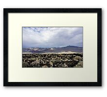 Highway 395-The Open Road Framed Print