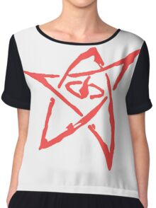 Elder Sign (Transparent Background) Chiffon Top