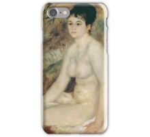 Auguste Renoir - After the Bath 1876 Woman Portrait Fashion iPhone Case/Skin