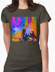 Flying Dream Womens Fitted T-Shirt