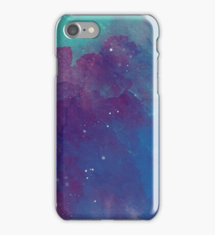 Night sky [watercolor] iPhone Case/Skin