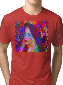 Lost in the Music Tri-blend T-Shirt