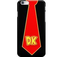 donkey kong tie  iPhone Case/Skin