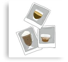 Photocoffees.  Canvas Print