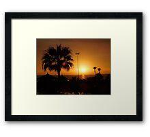 Agadir Sunset 2 Framed Print