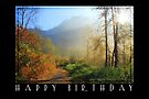 Happy Birthday: Painted Eden by Tracy Friesen