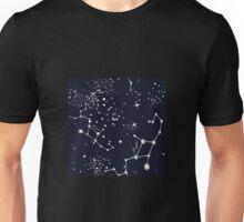 Zodiac Constellations in Virgo Unisex T-Shirt