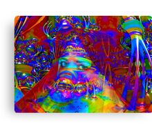Cyborg Creation Canvas Print