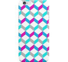 Bold Bright Trendy Optical Illusion Color Blocks iPhone Case/Skin