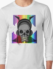 Skull, Guitars and Rock and Roll! Long Sleeve T-Shirt