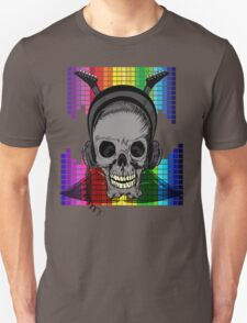 Skull, Guitars and Rock and Roll! Unisex T-Shirt