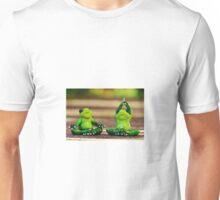 Yoga frogs Unisex T-Shirt