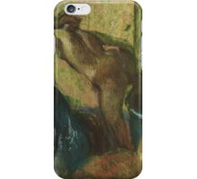 Edgar Degas - After the Bath , Impressionism iPhone Case/Skin