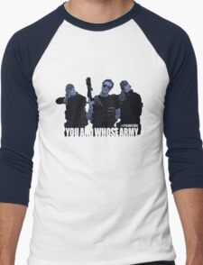 """Primeval- """"You And Whose Army?"""" Men's Baseball ¾ T-Shirt"""