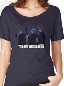 "Primeval- ""You And Whose Army?"" Women's Relaxed Fit T-Shirt"