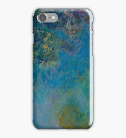 Claude Monet - Wisteria , Impressionism iPhone Case/Skin