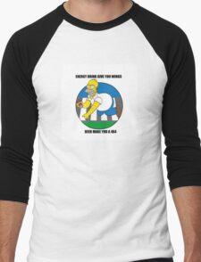 I LIKE BEER Men's Baseball ¾ T-Shirt