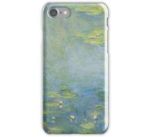 Claude Monet - Waterlilies. Impressionism iPhone Case/Skin