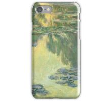Claude Monet - Waterlilies (1907)  Impressionism iPhone Case/Skin