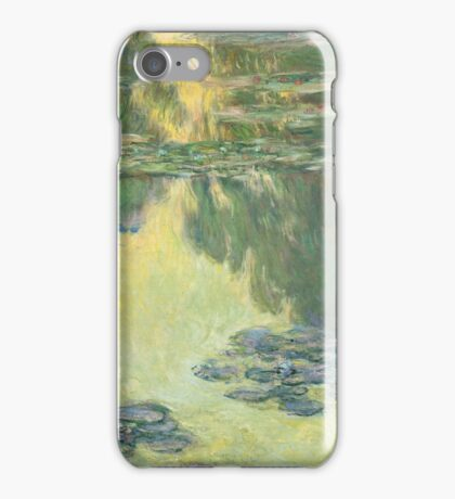Claude Monet - Waterlilies (1907)  Impressionism iPhone Case/Skin