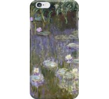 Claude Monet - Water Lilies (1922)  Impressionism iPhone Case/Skin