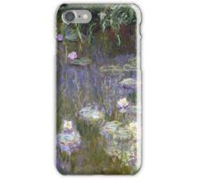 Claude Monet - Water Lilies (1922)  Impressionism iPhone Case/Skin