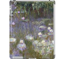 Claude Monet - Water Lilies (1922)  Impressionism iPad Case/Skin