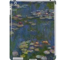 Claude Monet - Water Lilies (1916)  Impressionism iPad Case/Skin