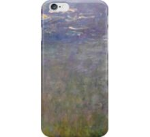 Claude Monet - Water Lilies (1915 - 1926)  Impressionism iPhone Case/Skin