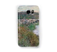Claude Monet - View of Vetheuil (1880)  Impressionism Samsung Galaxy Case/Skin