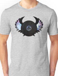 Vinyl Records with Wings - Retro Grunge Vintage Art - Music DJ! Unisex T-Shirt