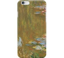 Claude Monet - The Water-lily Pond (1914-1917) Impressionism iPhone Case/Skin