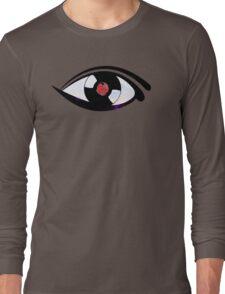 Eye Heart Vinyl (I Love Vinyl) Modern Conceptual Art Vinyl Records Music Long Sleeve T-Shirt