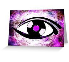 Eye Heart Vinyl (I Love Vinyl) Modern Conceptual Art Vinyl Records Music Greeting Card