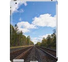 Steel Rails to Infinity iPad Case/Skin
