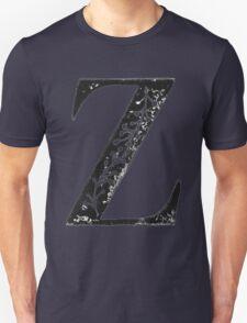 Serif Stamp Type - Letter Z Unisex T-Shirt