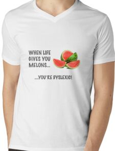 Melons! Mens V-Neck T-Shirt