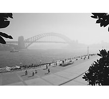 Smokey Saturday in Sydney #1 Photographic Print