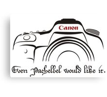 Canon in D - even Pachelbel would like it. Canvas Print