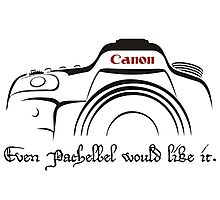 Canon in D - even Pachelbel would like it. Photographic Print