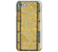A CALLIGRAPHIC ALBUM PAGE, SIGNED BY MUHAMMAD BAQIR, PERSIA, SAFAVID, 16TH CENTURY iPhone Case/Skin