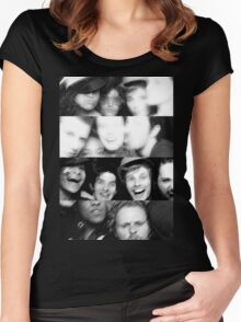 Merlin Cast ~ Photogenic  Women's Fitted Scoop T-Shirt