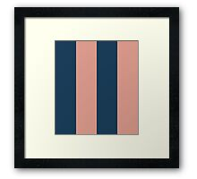 5th Avenue Stripe No. 1 Framed Print