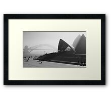Smokey Saturday in Sydney #2 Framed Print