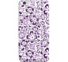 Norwegian Flowers (purple) iPhone Case/Skin